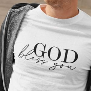 T-shirt męski God bless you