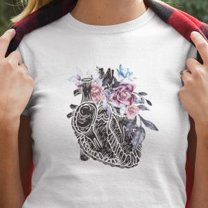 T-shirt koszulka  Heart of flowers