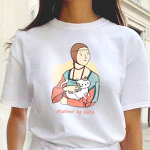 T-shirt koszulka wzór Mother of cats