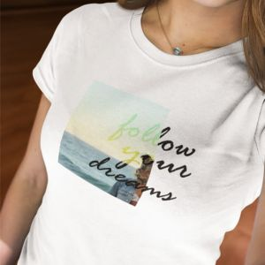T-shirt koszulka  Follow your dreams