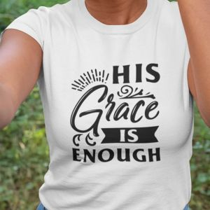 T-shirt  damski  His grace is enough