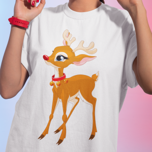 T-shirt Rudolph the Red-Nosed Reindeer