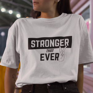 T-shirt koszulka Stronger Than Ever
