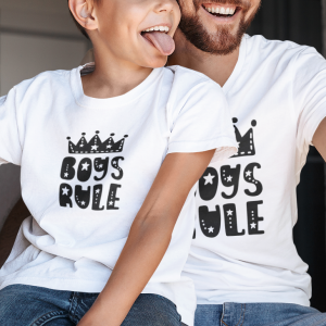 Komplet T-shirtów Boys Rule