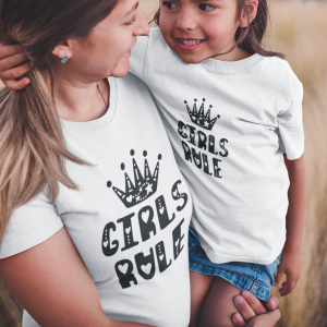 Komplet T-shirtów Girls Rule