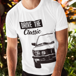T-shirt Męski Drive The Classic BMW e28