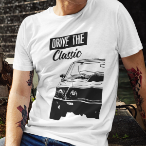 T-shirt Męski Drive The Classic Ford mustang Boss 429