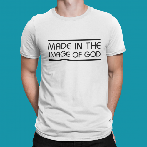 T-shirt męski Made in the image of God