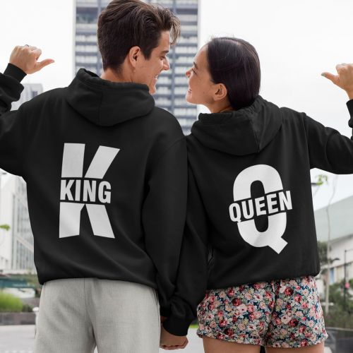 Komplet bluz King and Queen